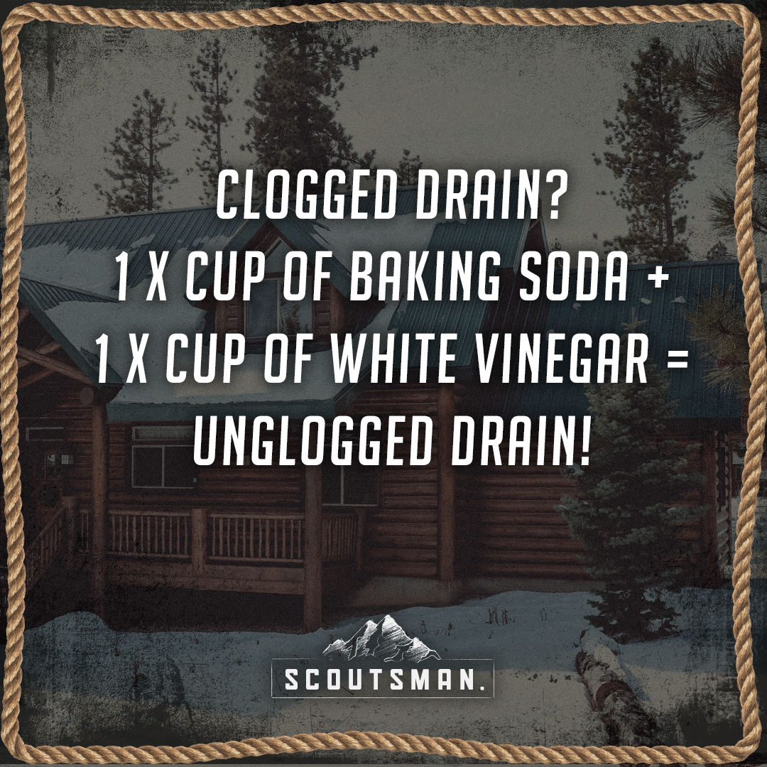 Scoutsman Life Hack_Baking soda_drain.jpg
