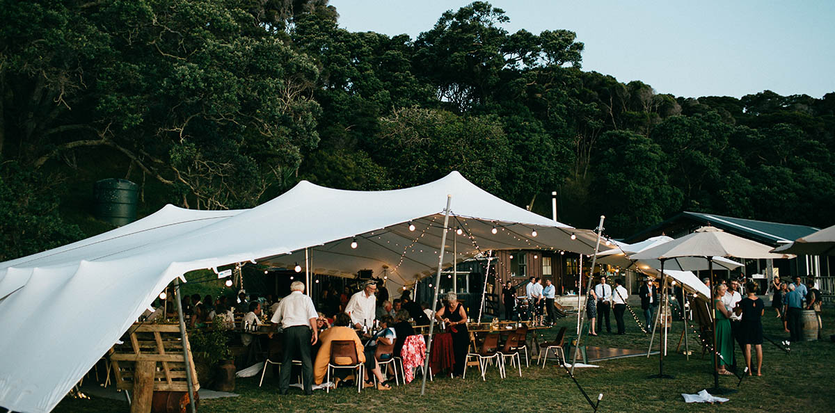 Stretch Tents and Marquee available for hire in the Wairarapa.