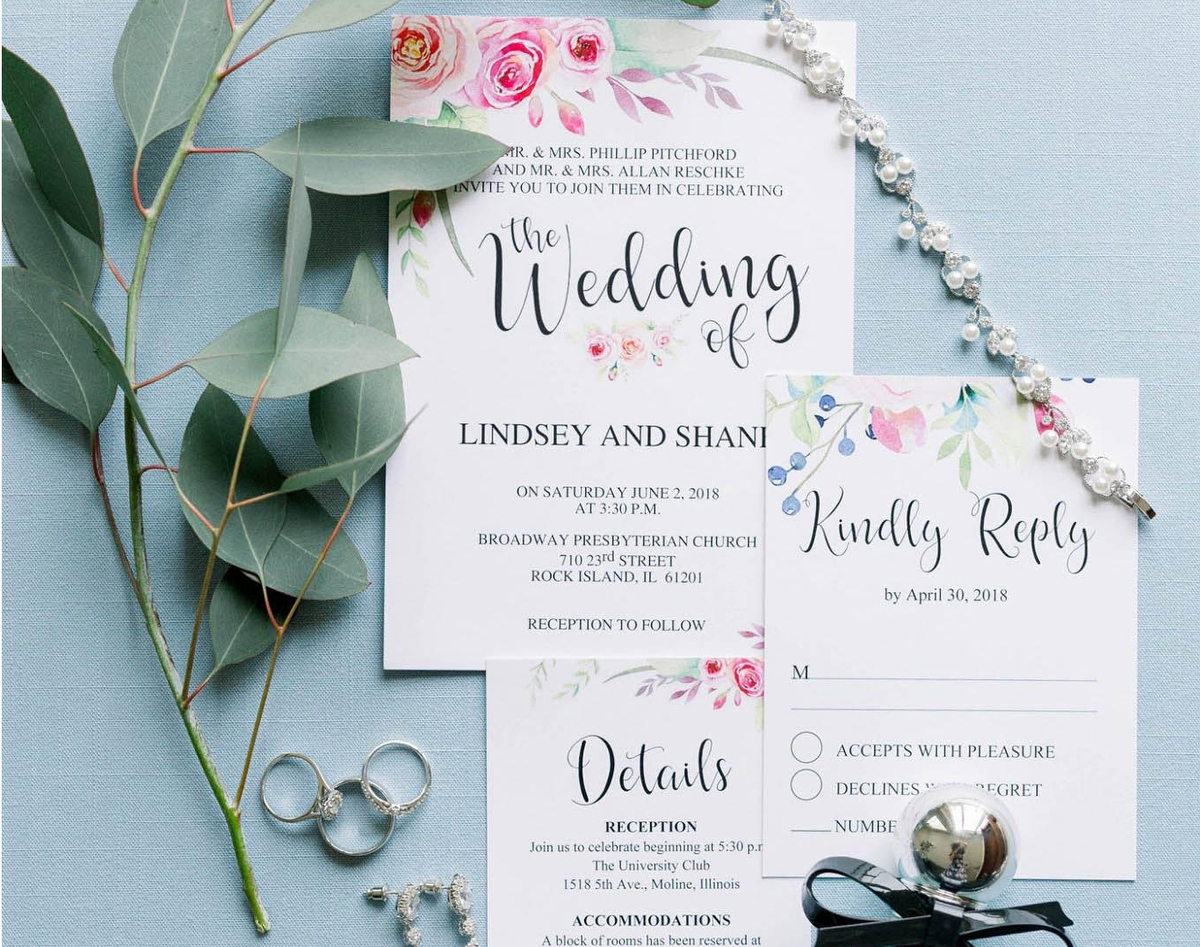 Wedding Stationery by Friday Feels Paper
