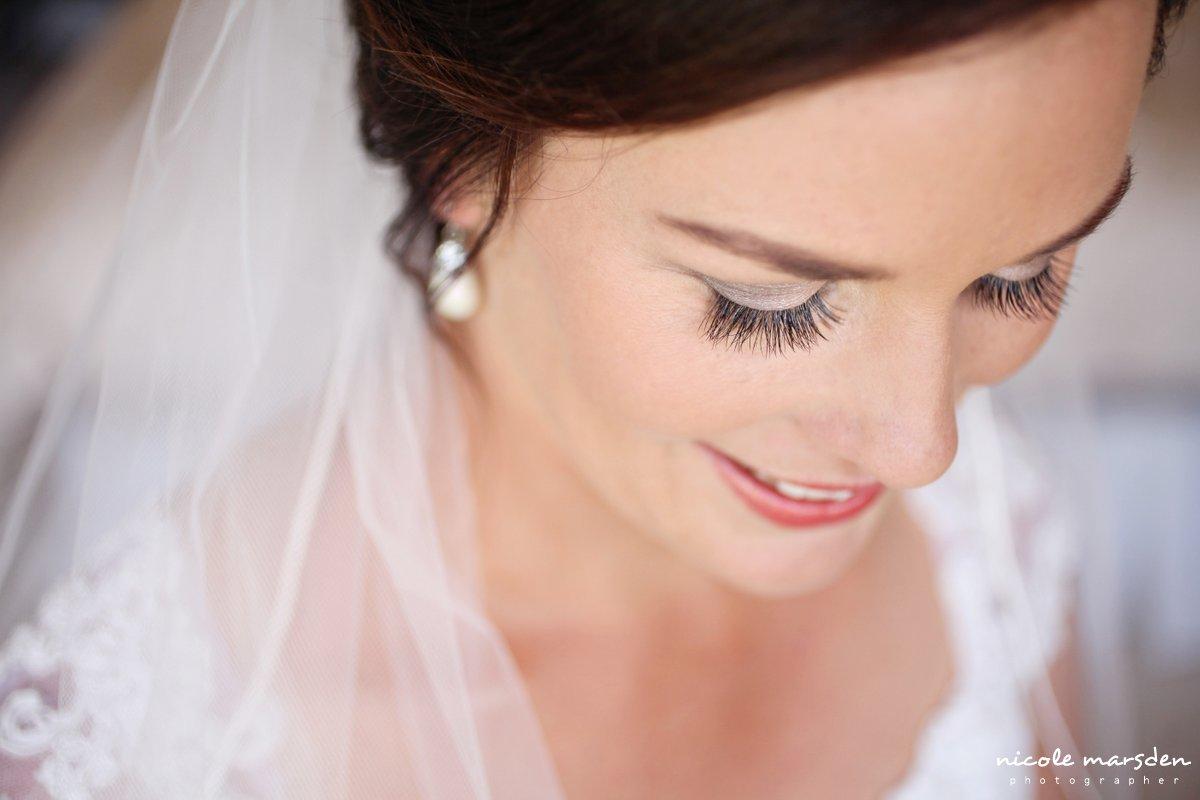 Bridal makeup by Alluminus