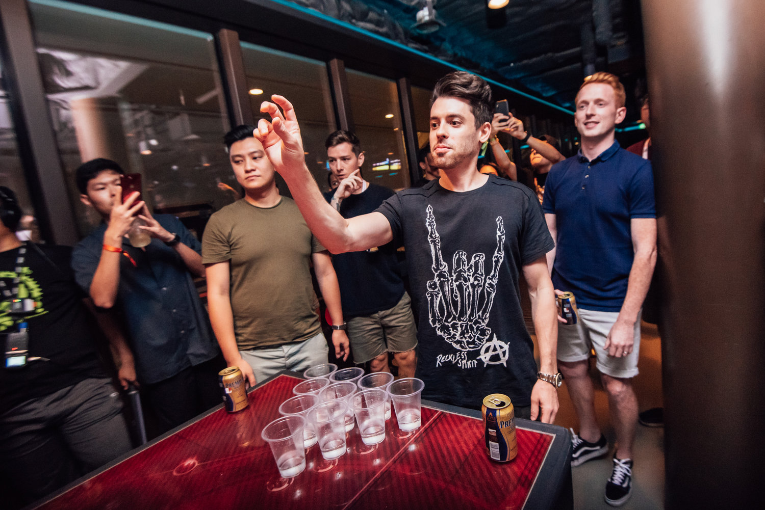 The ship also featured its signature pop-up parties and artist-led side activities where shipmates got competitive over Glow Bowling with Showtek, Beer Pong with Cash Cash, and struck a yoga pose with Helena Legend