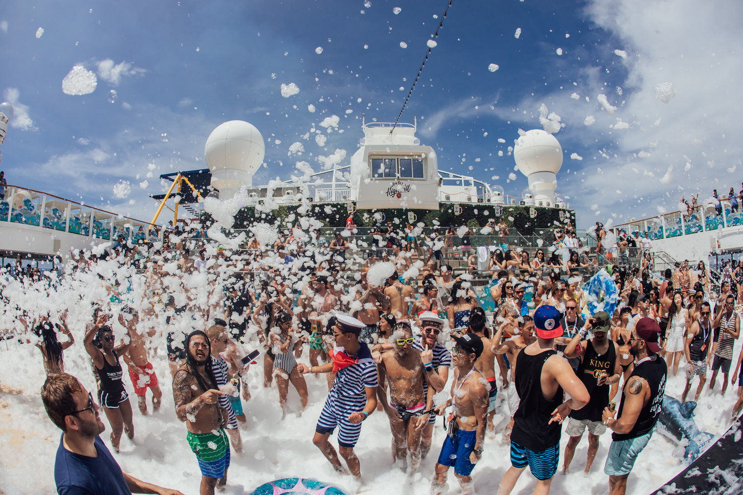 IT'S THE SHIP has proven to be more than just Asia's Largest Music Festival At Sea with activities ranging from musical beers to themed events such as the highly anticipated foam party