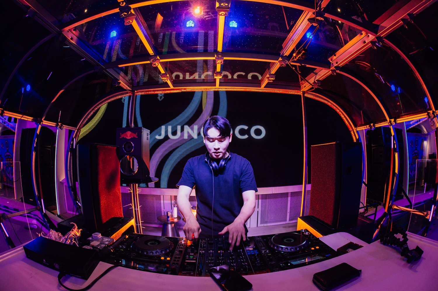 IT'S THE SHIP is also a platform for regional talent to shine, This 2018, Livescape held their second Deck Selecta competition where three lucky winners, Yusef Kifah from Malaysia, and Juncoco and Enoch An from South Korea got to perform alongside some of the best DJs on this year's party cruise