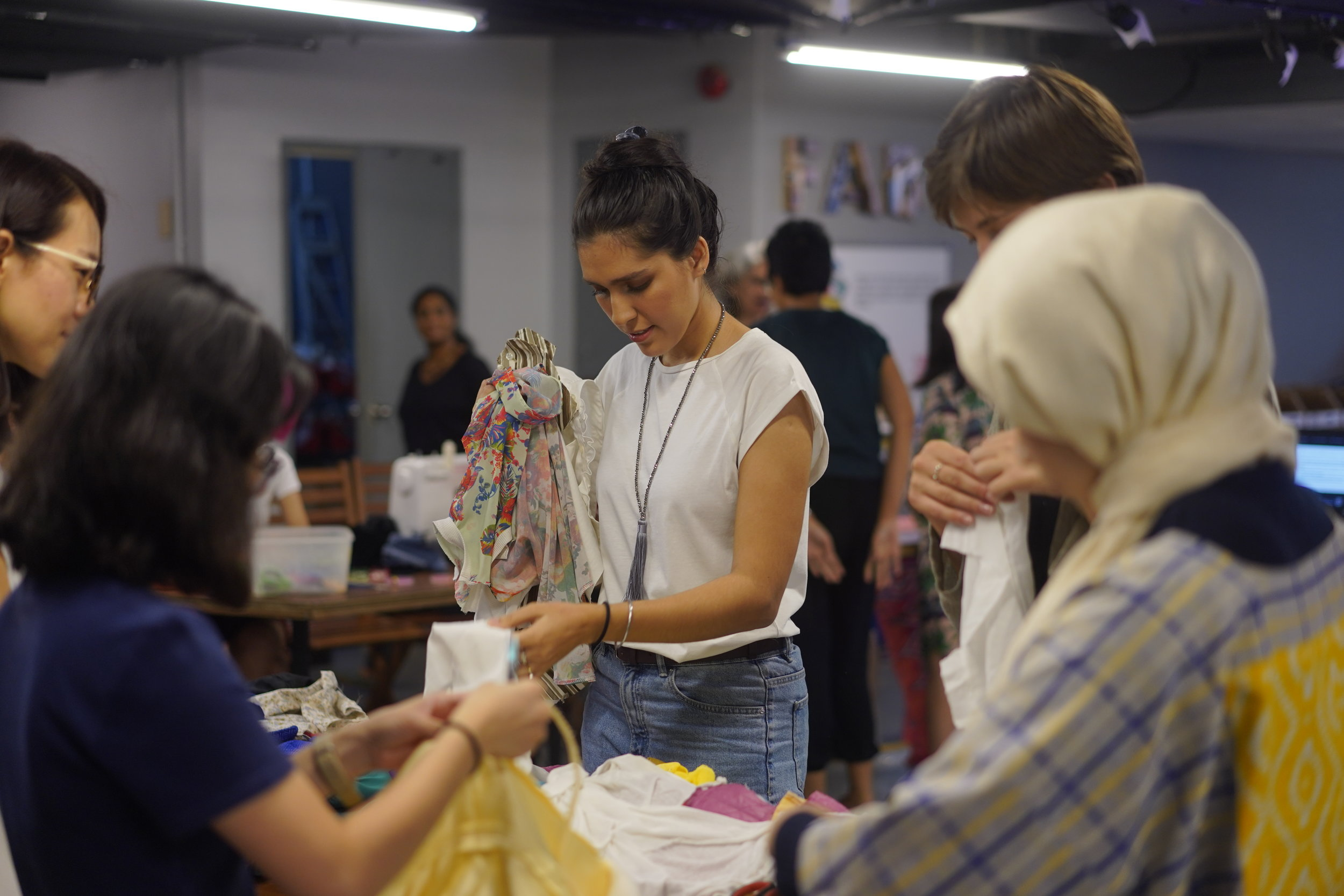 [WORKSHOP] Sustainable Fashion_ Making Clothes from Reusable Materials.JPG