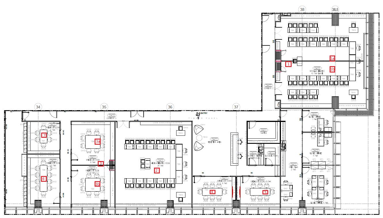 Arbitration Centre Floor Plan