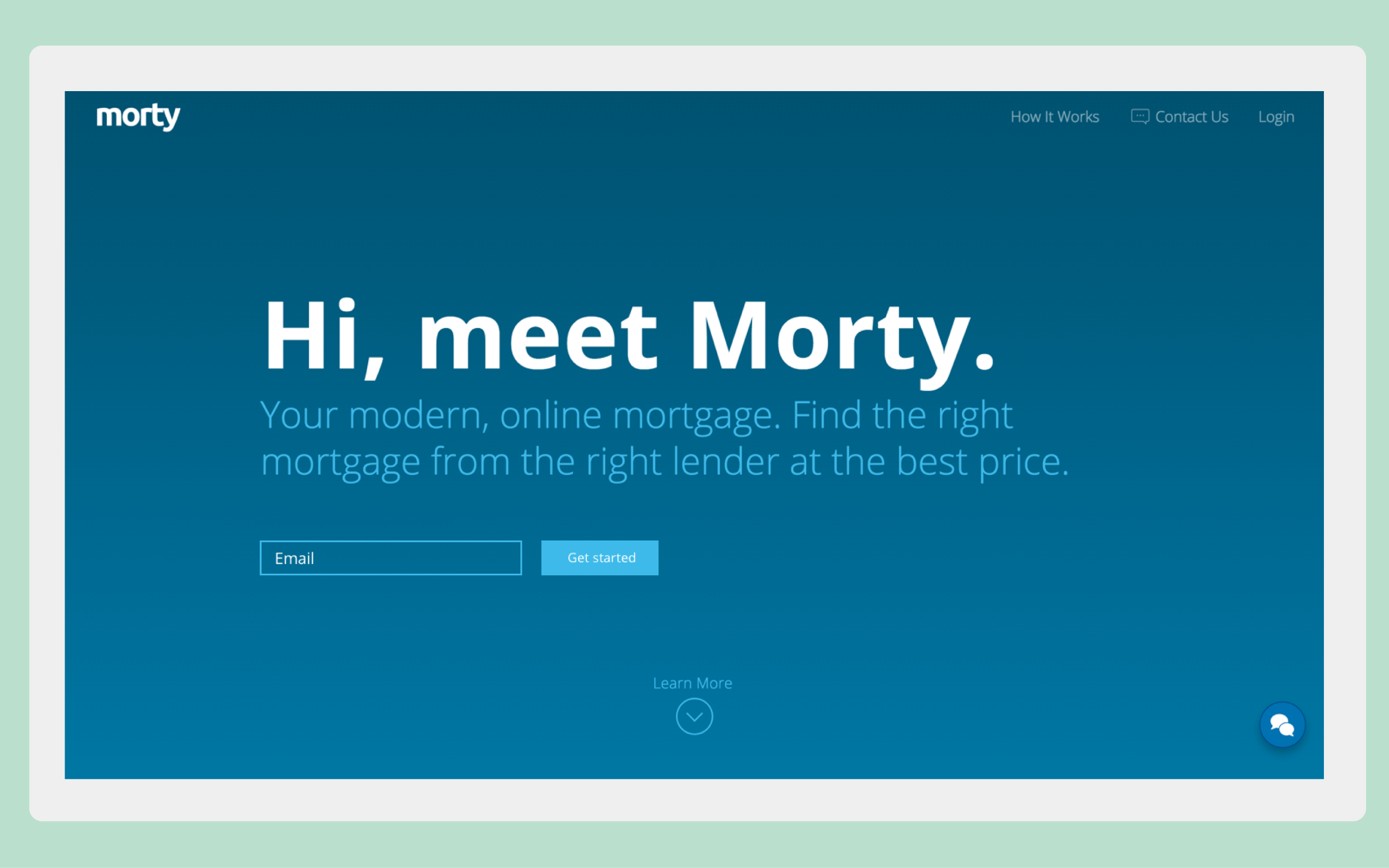 Morty's user onboarding flow