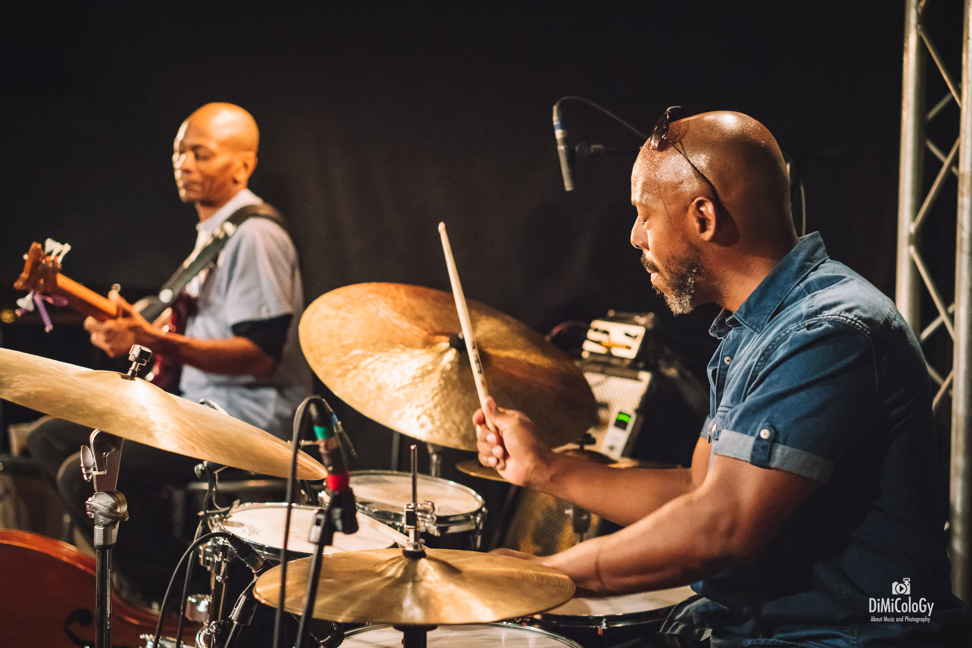 Reggie Washington & E.J Strickland