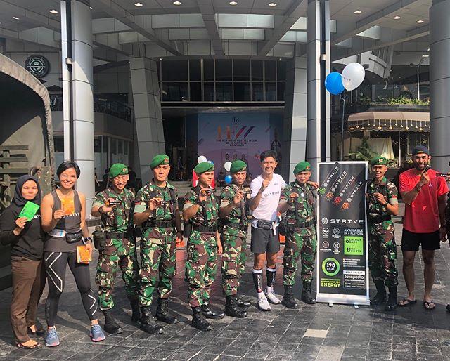 Mari bersama kita ucapkan terima kasih kepada @tni_angkatan_darat dan juga aparat lainnya yang sudah mengamankan Ibukota! #sayacintaindonesia