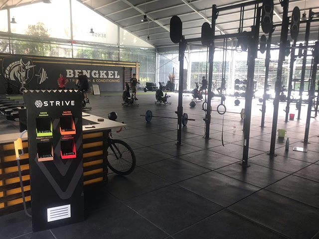 Hi Striveans, let our Unicorn friends teach us endurance sport junkies a thing or two about getting our next PBs • You'd surprised that it ain't about racking up the miles to get faster. In addition to proper nutrition, strength & conditioning workouts are just as important • Come and checkout their cool facility and super friendly Unicorns @bengkelsnc