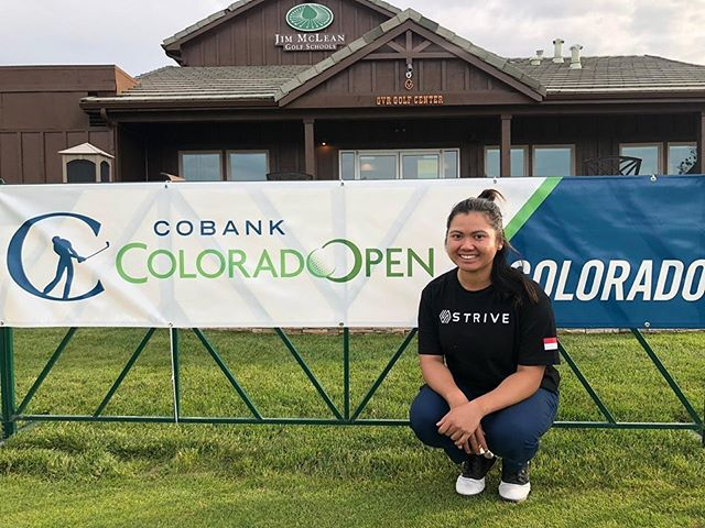 Good luck to @tatianawijaya at the 2019 Colorado Open 💪🇮🇩