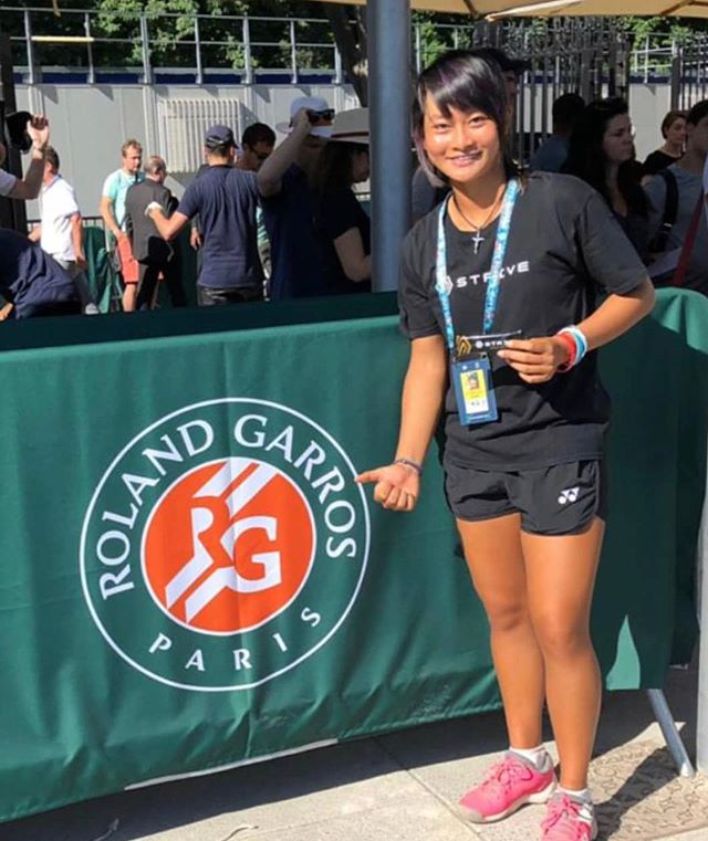Strivean at 2019 French Open Grandslam! • • Let's wish our Strivean @priskanugroho the best of luck on her 1st round @rolandgarros. She and along @christorungkat are the only players representing 🇮🇩 at one of tennis biggest tournaments! • • • • • • #keepsyoumoving #whatdoyoustrivefor #striveonthego #tennisindonesia