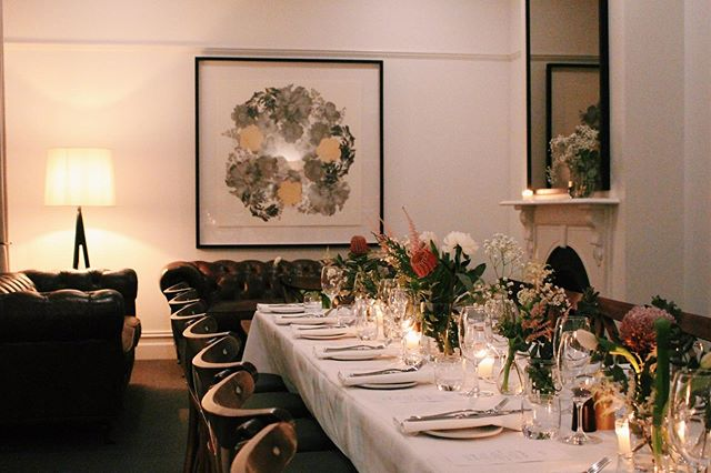 A special private dinner in our upstairs function room this weekend. Function packages available on our website // #sawyersarmsgeelong  #functionroomgeelong
