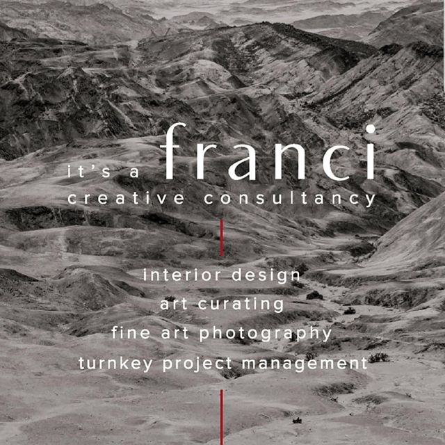 it's a Franci....that's what it's all about.. #itsafranci #creativeconsultancy #interiordesign #fineartphotography #artcurating #turnkeyprojects #projectsolutions #creativityismycurancy #itsafrancibiggamementality