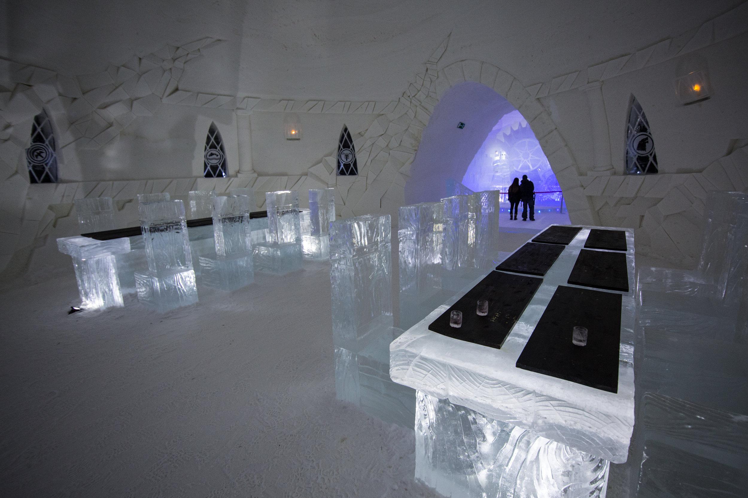 (c) Lapland Hotels Snow Village