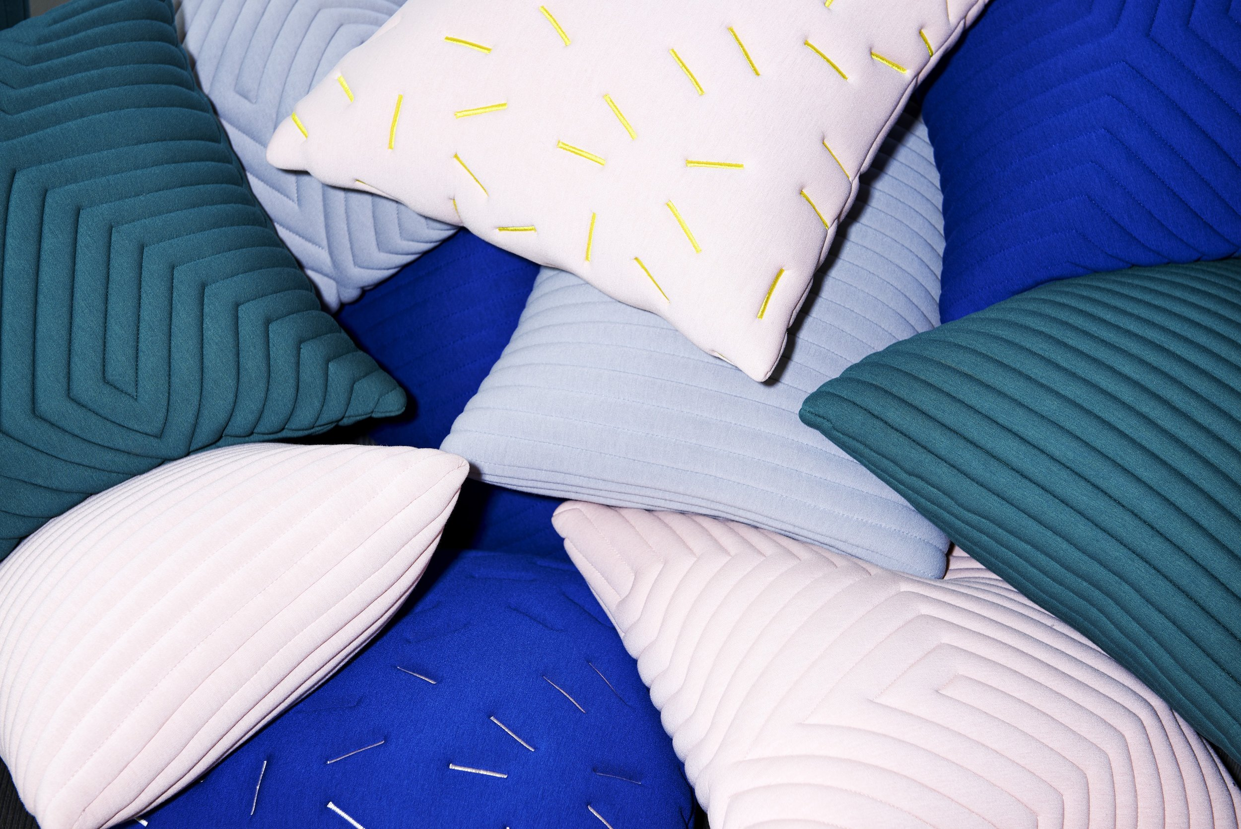 Textile products for Nomess Copenhagen, collections AW16 & AW18