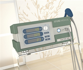 podiatrist treats plantar fasciitis, heel pain and foot pain with shockwave therapy