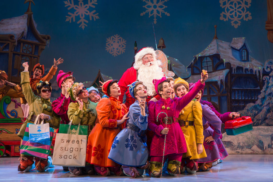 ELF THE MUSICAL  National Tour  2016