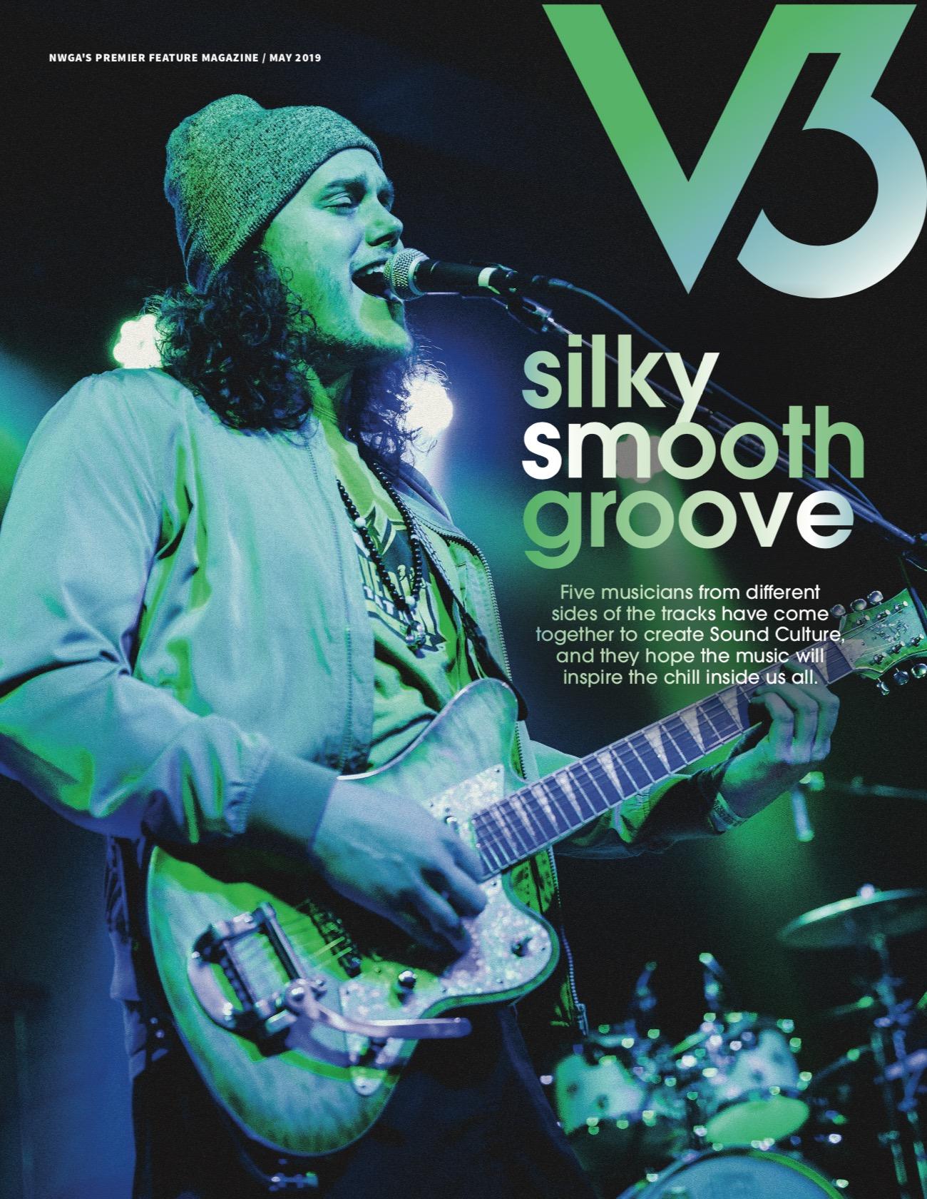 Sound Culture recently made the cover of Atlanta's V3 magazine!