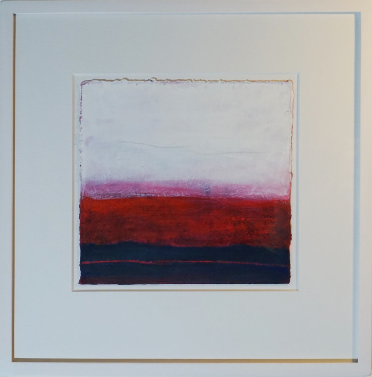 CRIMSON 34CM X 34CM  FOR SALE