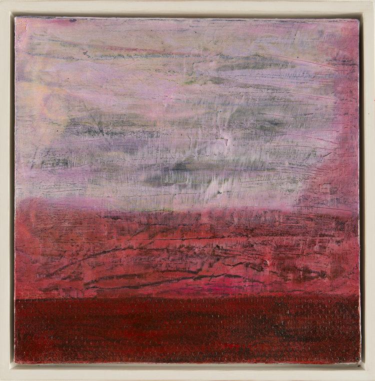 RED LANDSCAPE 40cm x 40cm FOR SALE