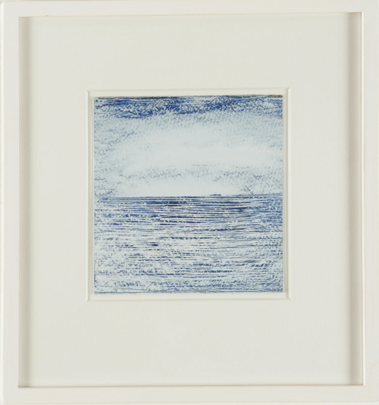 BLUE SEA III 30CM X 30CM -FOR SALE