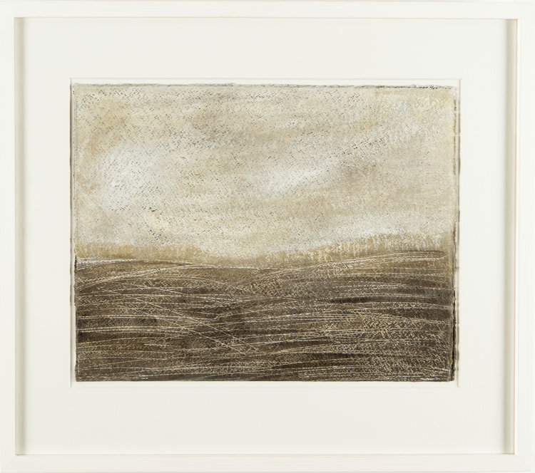 BROWN FIELDS 44CM X 53CM FOR SALE