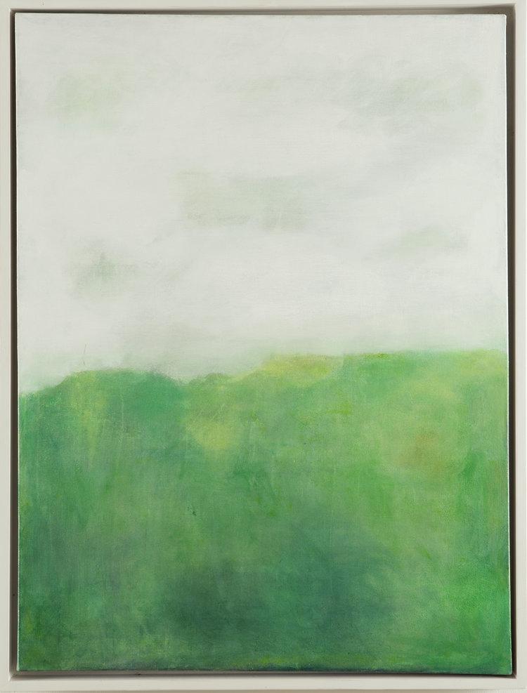 GREEN LANDSCAPE 70cm x 100cm FOR SALE