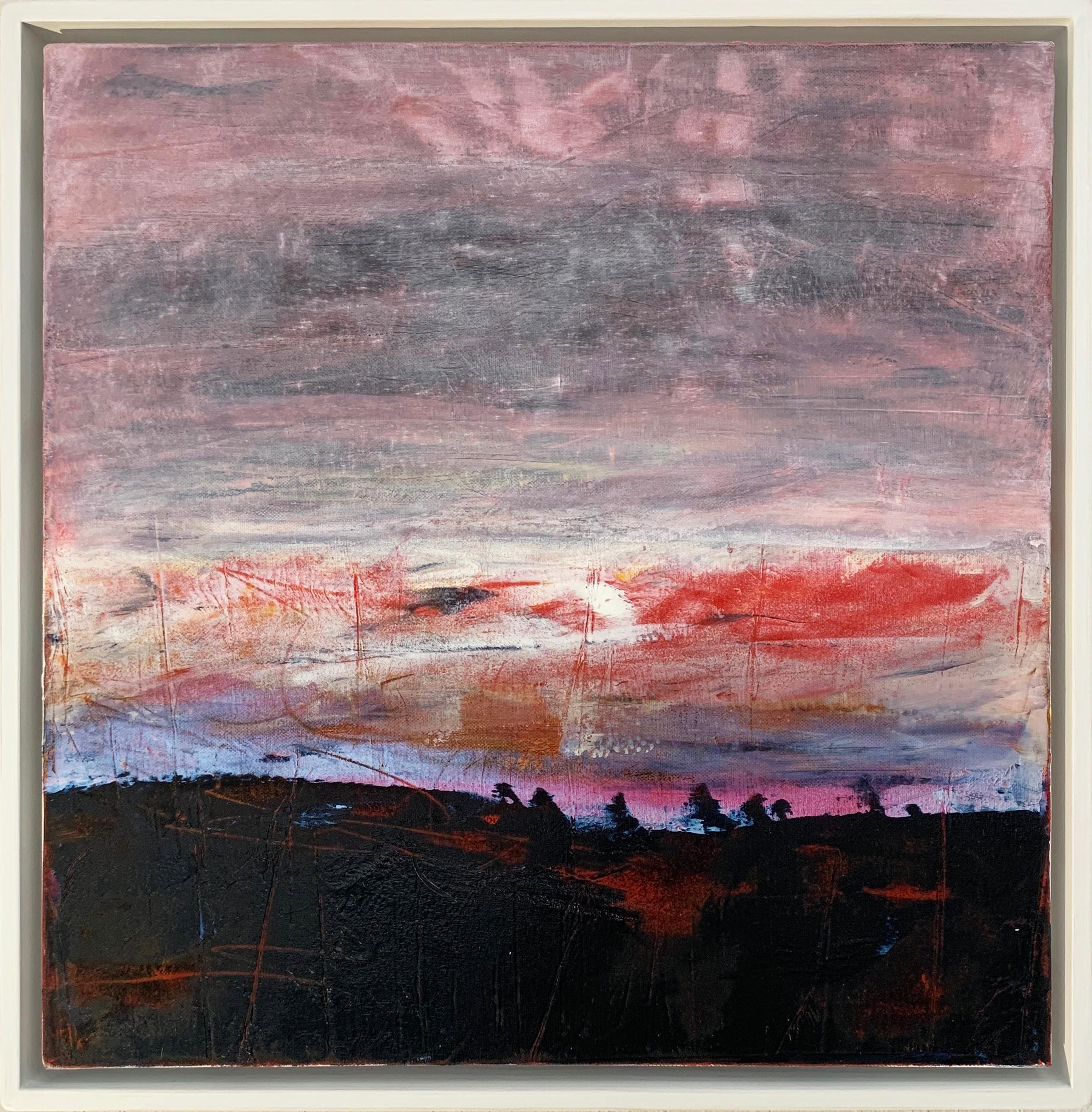 SUMMER SUNSET Oils on canvas: 50 cm x 50 cm FOR SALE