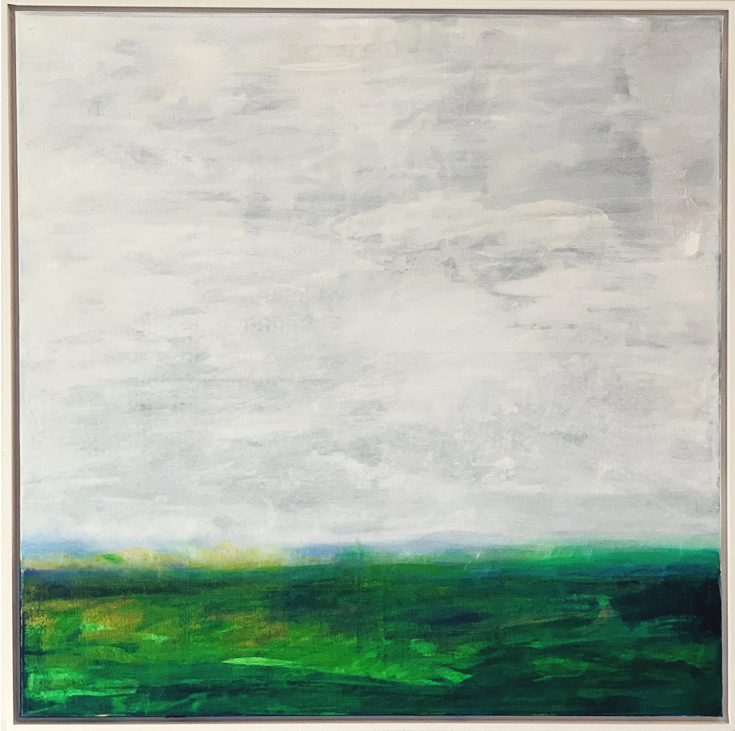 WOODLANDS Oils on canvas. 100cm x 100cm 🔴