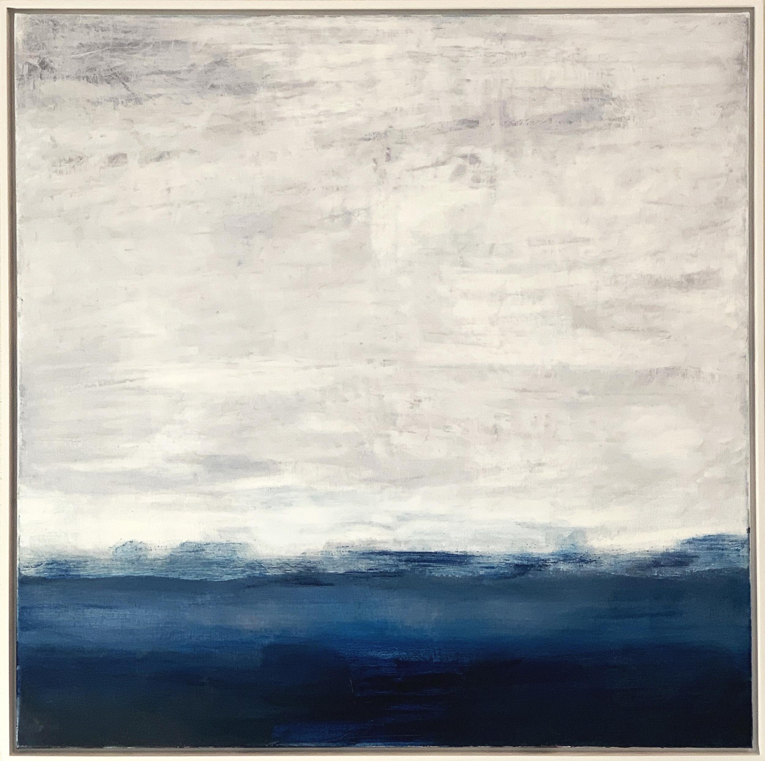 Movement. Oils on canvas 100cm x 100cm  🔴