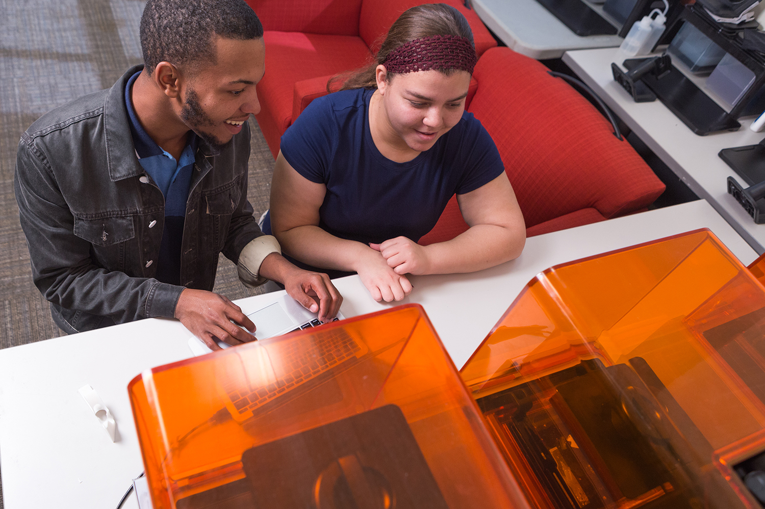 At the MIX Lab, students are empowered to develop their design and 3D printing skills through hands on experience with a range of tools, including the  Form 2 .