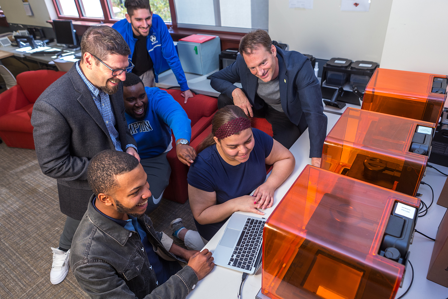 """Frasca and Kerr teach their students to become """"agents of design"""" and put their creative problem solving, 3D design, and lean manufacturing skills to the test."""
