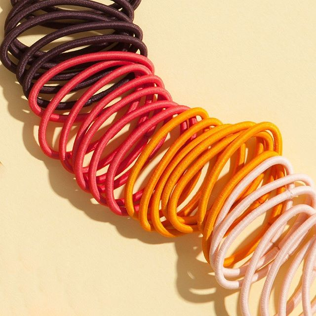 When your (hair) future is looking bright ☀️🧡 Which color of our classic Ouchless Elastics is your fave?! #goodyhair #feelgoody