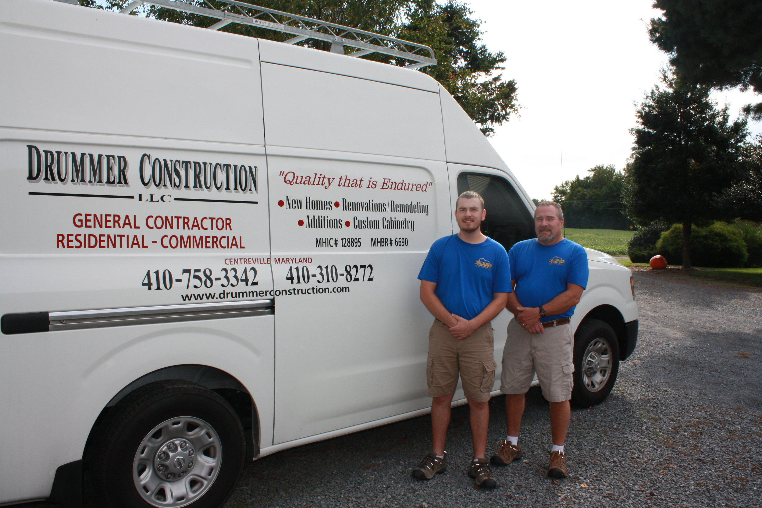 Dan and Son with van image.JPG