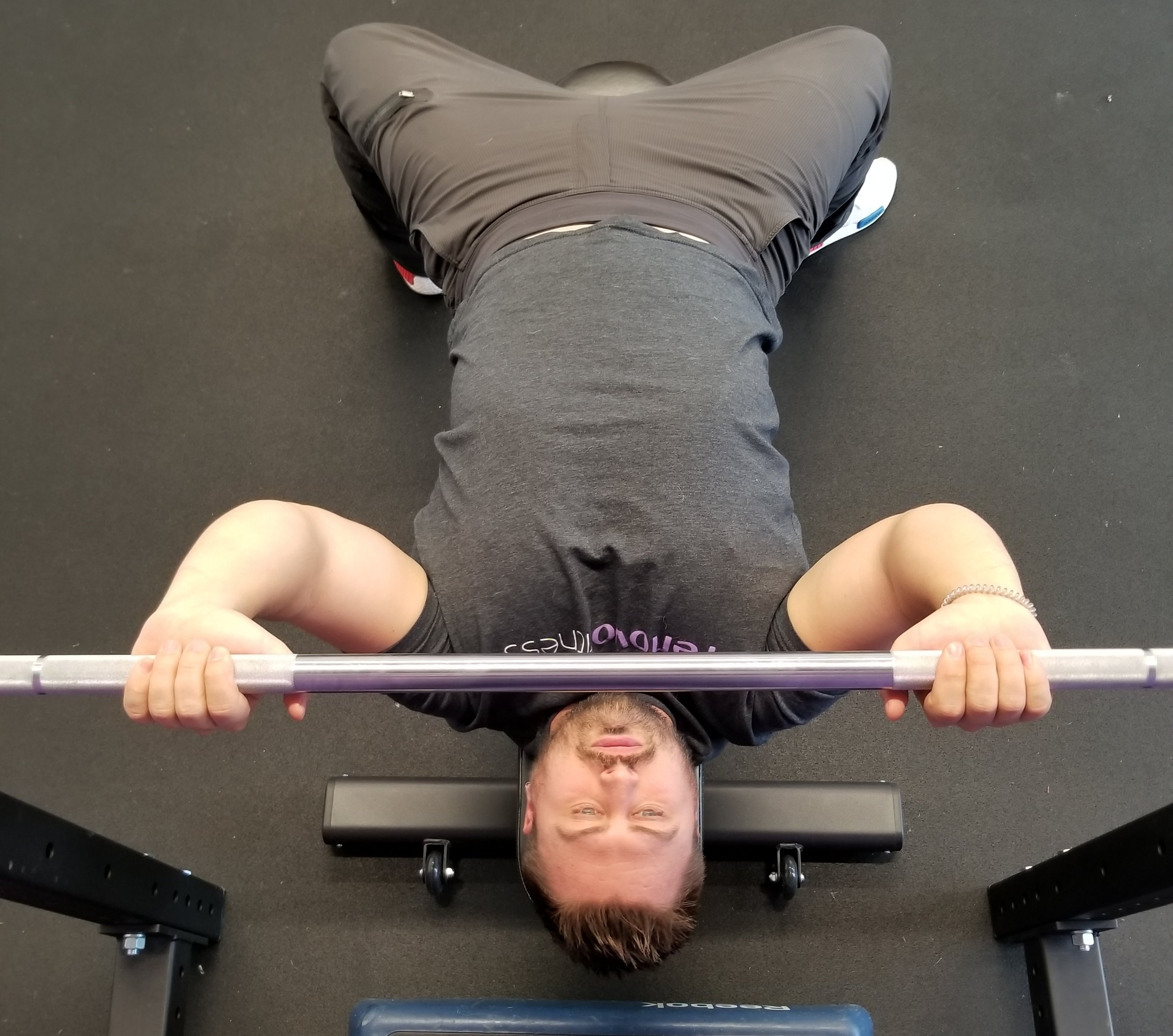 Narrow grip bench press.