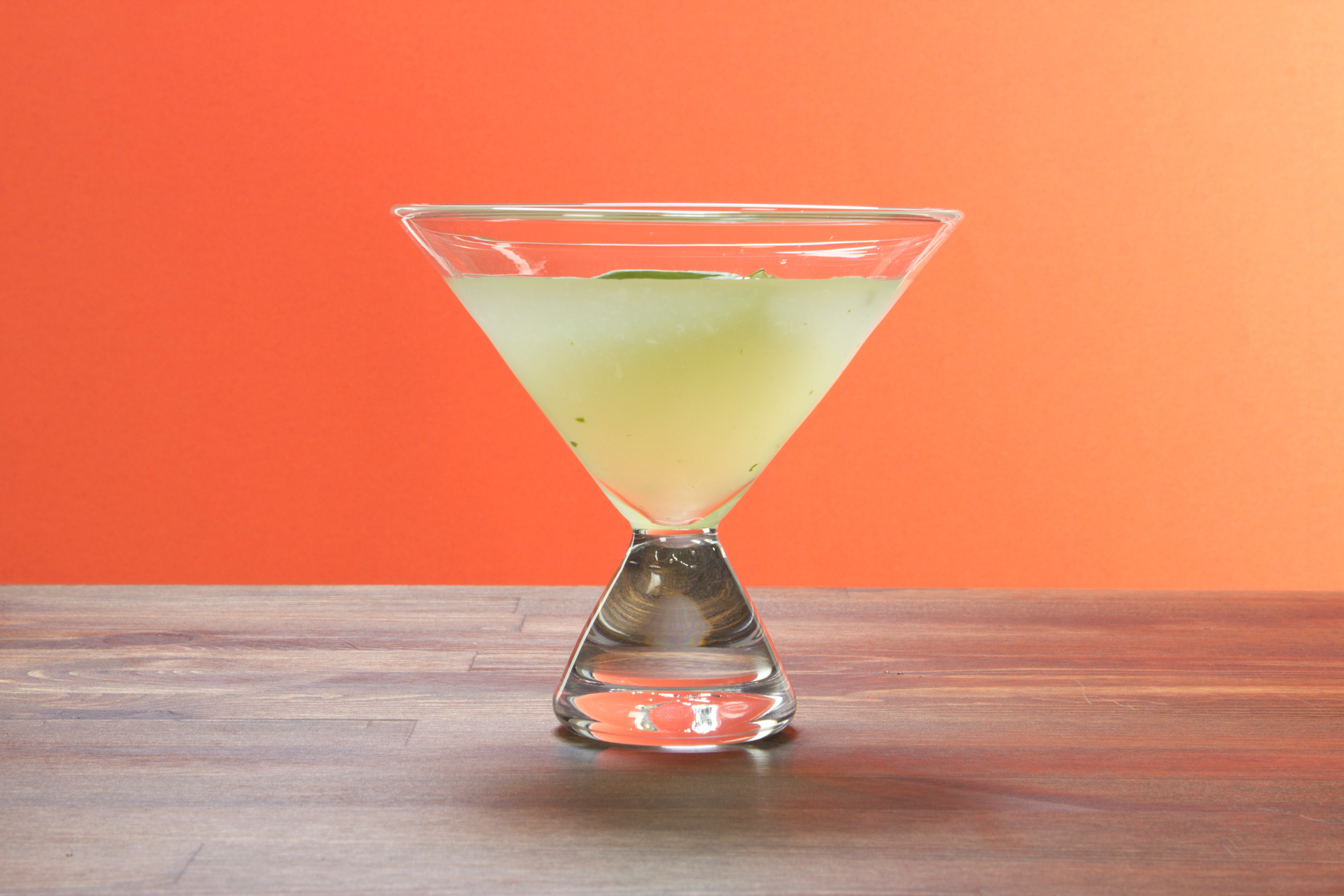 Basil and Lime Gimlet
