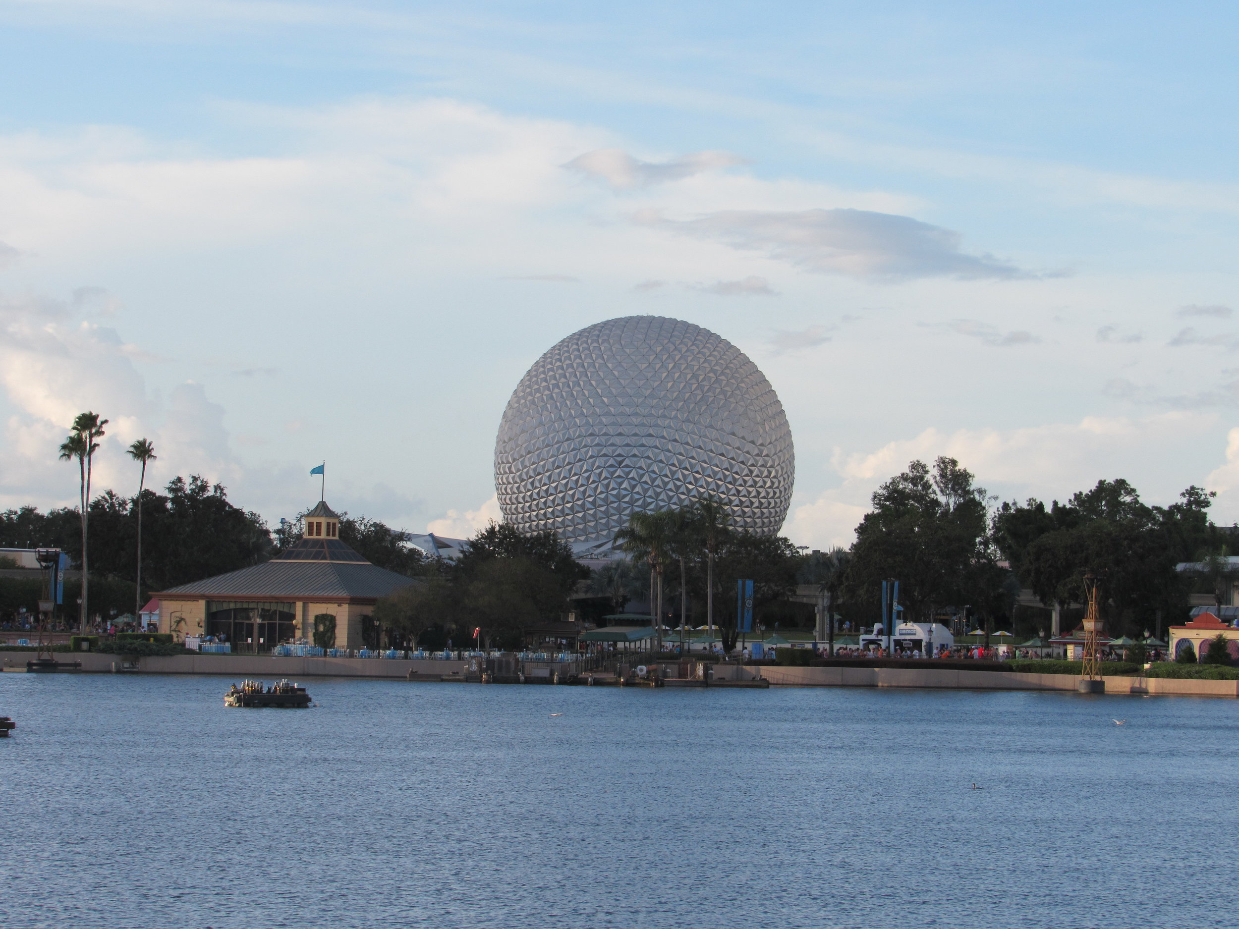 View from the World Showcase