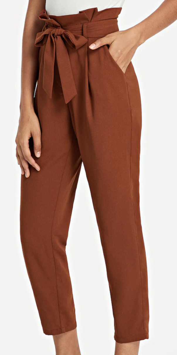 Loved these pants! Perfect for game drives. I wore them a few different times and paired them with a plain grey tank top one day and a grey and white striped t-shirt another day! $18