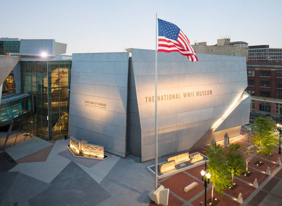 WWII Museum - #1 Tourist Destination In NOLA
