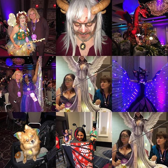 The BOOK LOVERS CON Faery Ball in New Orleans was Spectacular and Enchanting!!! Thanks #BLC19 for a WONDERFUL evening and incredible steak dinner💕 #BIGEASY2musicCityBLC #blc19 #aroundmearoundyou