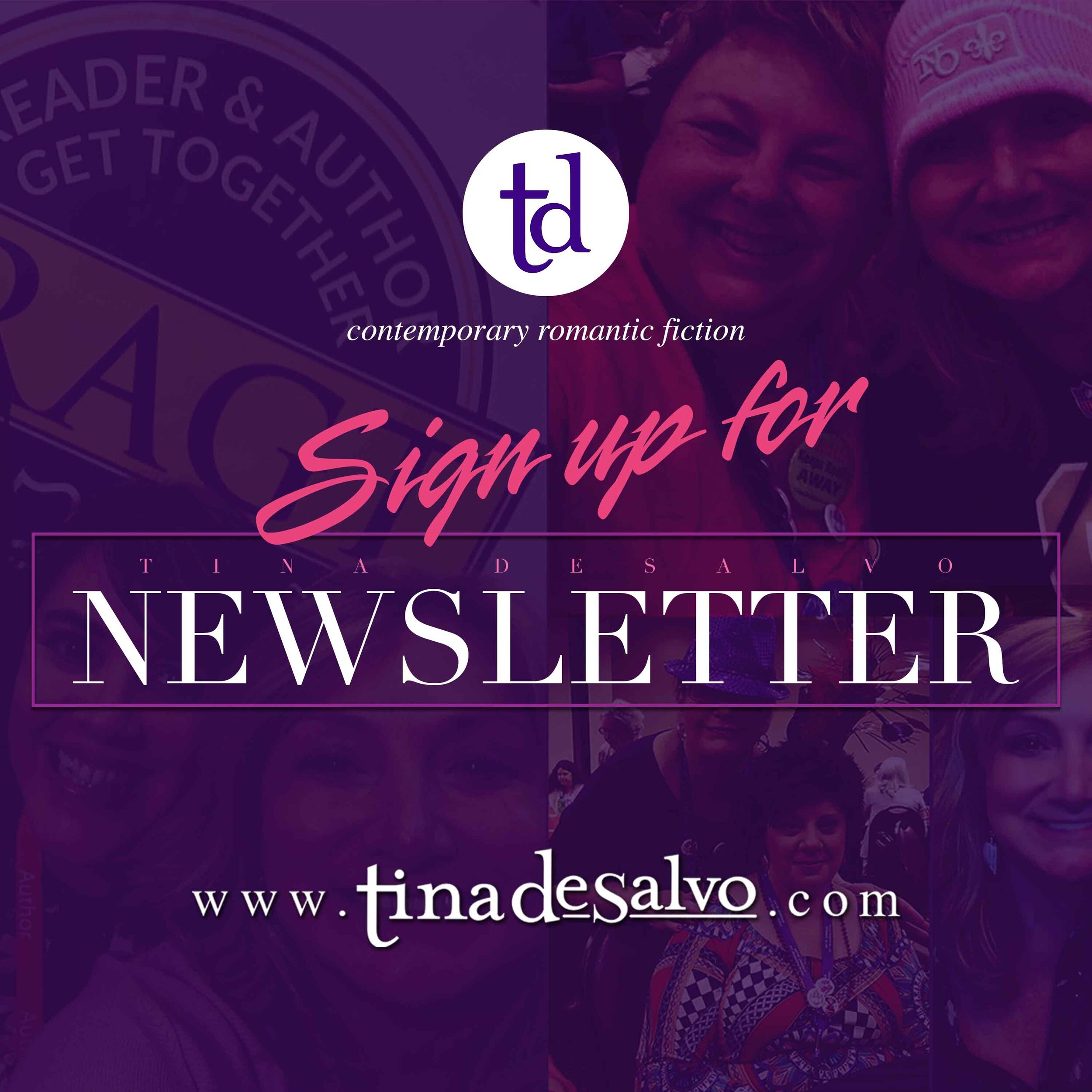 SIGN UP   Subscribe to receive exclusive news updates from Tina…  Read More