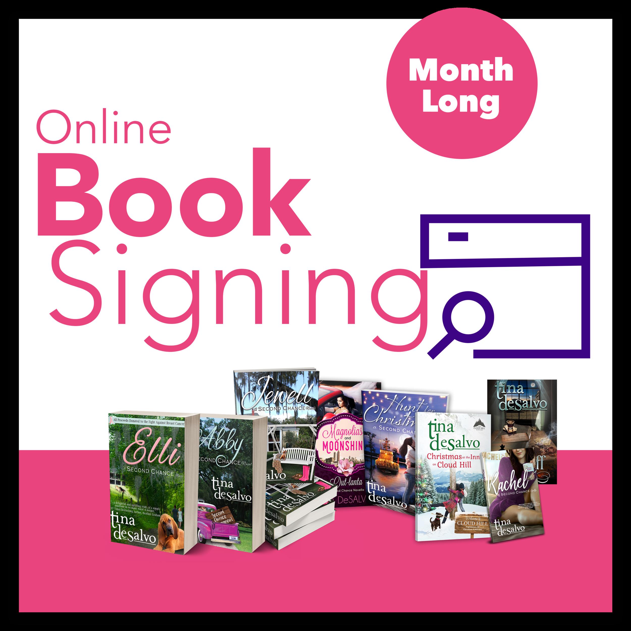 Tina DeSalvo Online Book Signing