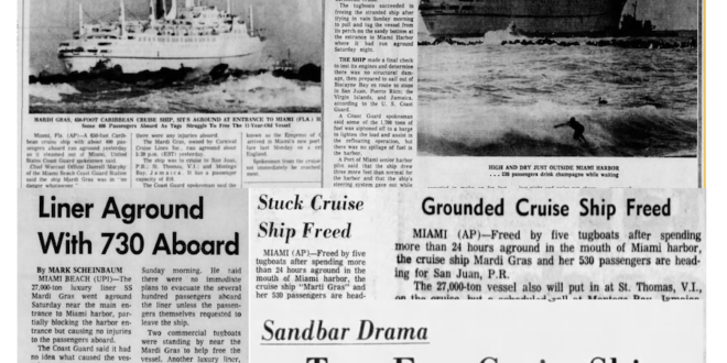 Carnival Cruise's maiden voyage in 1972 turns botched cruise into a publicity stunt