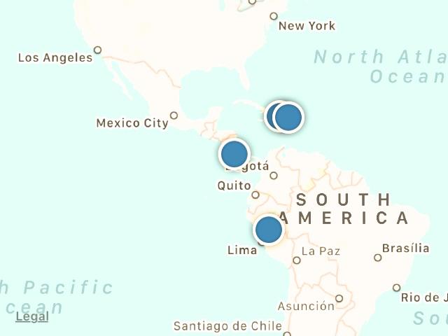 Where We Serve - Costa Rica ・ Dominican Republic ・ Haiti ・ Peru