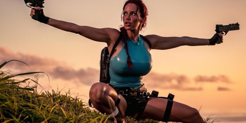 You're not fooling anyone, male game developers…Lara wasn't created for me.