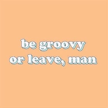 Can't we all just be groovy? ✌🏼✌🏽✌🏿 • • • #truth #quotagram #positivity