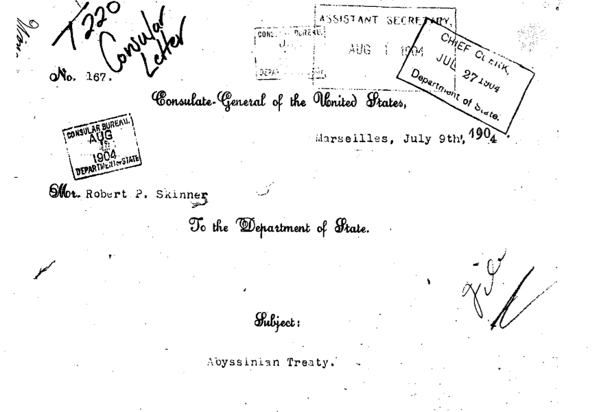 State Department Papers -