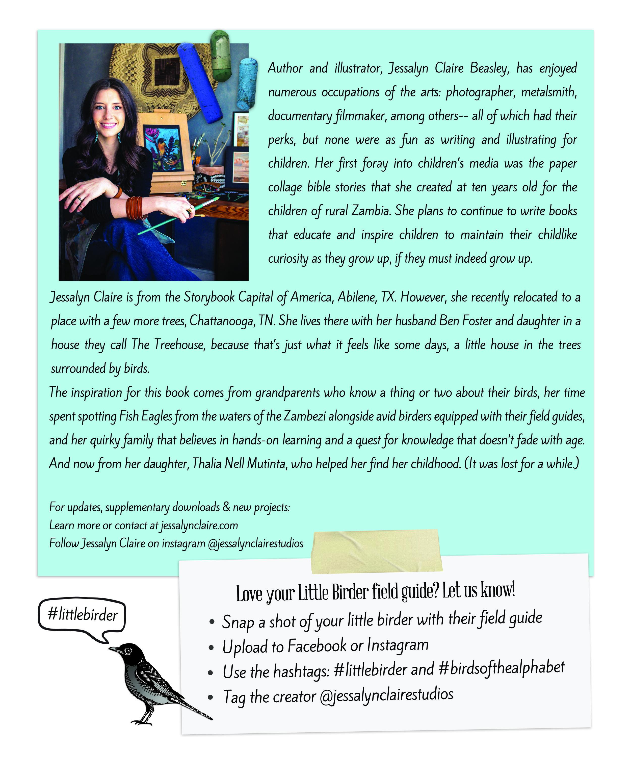 Little Birder Author and Illustrator: Jessalyn Claire Beasley