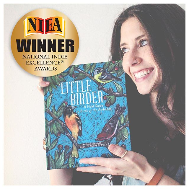 "I'm excited to share that Little Birder has won the National Indie Excellence Award for Children's Non Fiction category, as well as the Juror's Choice Award!  I confess that I learned the news between a flurry of toddler activity and her dire plea for a snack, so I only stopped long enough to make sure it wasn't a joke, and call my mom. It was embarrassingly later-on that my mother called back to inform me that Little Birder didn't just win its category, but it won Juror's Choice, the single title chosen from all of the winners! I would have figured it out. (...Sometime within the week, surely.) . . So grateful and honored by this recognition. Thanks to @paulthenshirley and #nationalindieexcellenceawards awards for seeing something in this humble little book. . . ""13th Annual Juror's Choice Award The Indie Excellence® Jurors Choice Award recognizes a single title from all of the Winners & Finalists awarded each year. This award honors one book that displays excellence in all aspects..."""