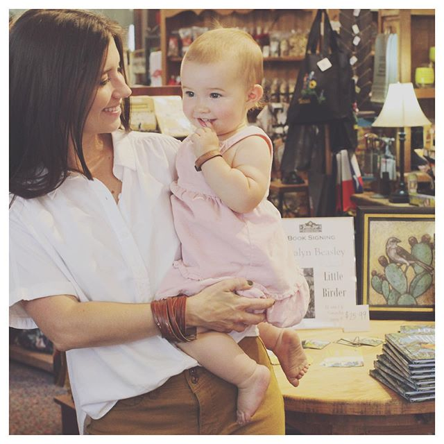 What a wonderful morning!  Thank you to everyone who stopped in, and thank you to Texas Star Trading Co. for making it such a success. Books are still available in the shop even though we're long gone, happily sipping tea in our comfy pants... well, one of us anyway.